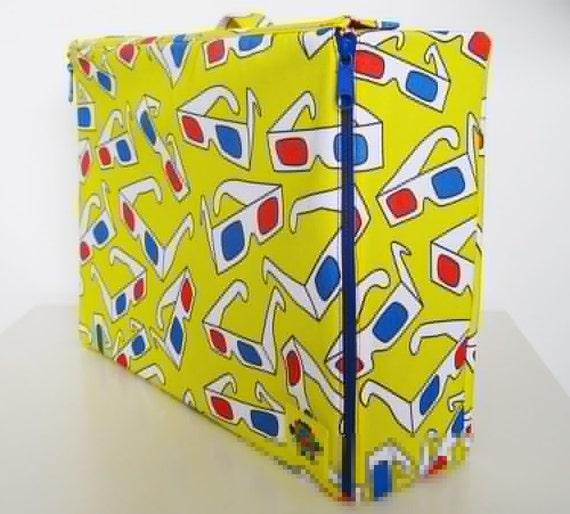 3D Glasses Hard Case Suitcase/Briefcase