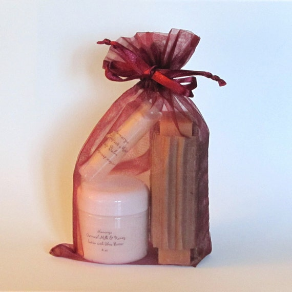 Gift Pack: Soap, 2oz Lotion and Lip Balm