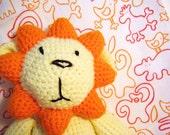 Large Lion Plush amigurumi crochet jungle cat