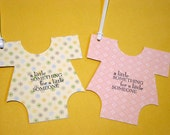 Onesie Tags - 4 pack