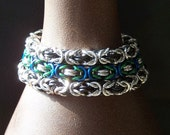 RESERVED for Sponds - Three Byzantine Chainmail Bracelets