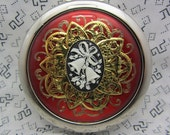 Black Friday Sale 10% Off Everything Use Coupon Code 10OFF At Checkout Compact Mirror Jingle Bells