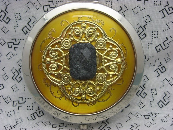 Compact Mirror Starry Night Black Friday Cyber Monday Sale 15% off use coupon code FRIDAY15