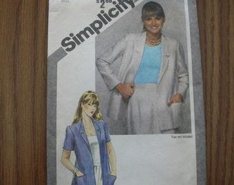 Vintage Simplicity 9913 Pattern Size 16