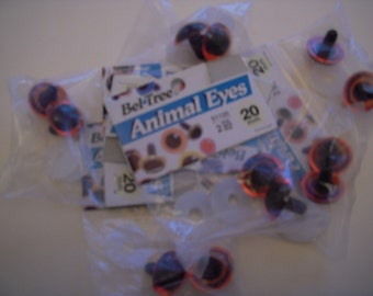 20mm Plastic Animal Eyes