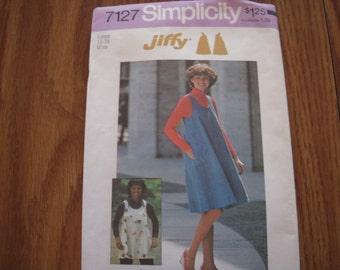 Vintage Simplicity 7127 Pattern Size L