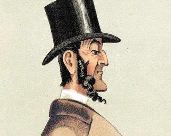 "Vanity Fair Print - ""Jack"" - Sir John Burgess Karslake, No. 56 - 1873 Antique Chromolithograph - Ministry of Silly Walks - Gift for Him"