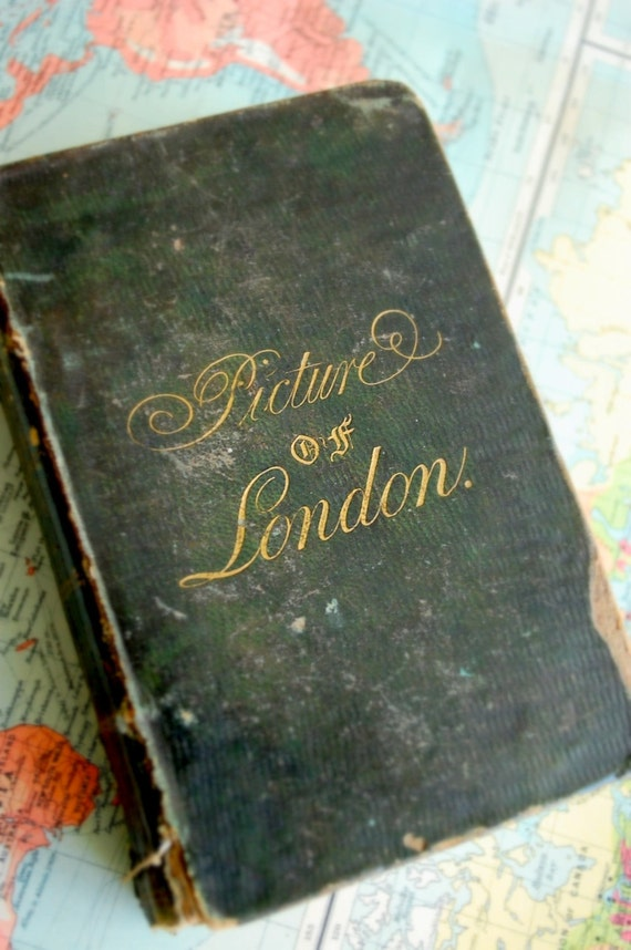 1821 Book. The Picture of London.