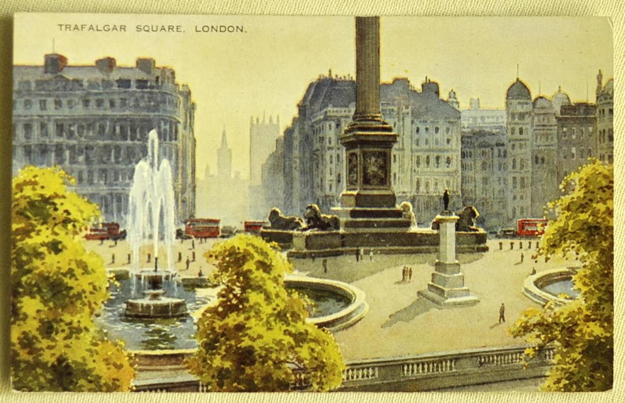 Vintage uk postcards Etsy