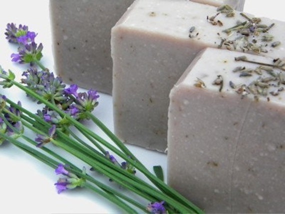 Lavender Fields All Natural Soap with Shea Butter and Coconut Milk