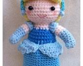 Instant Download PDF Crochet pattern - Cinderella