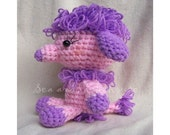 Crochet Pattern - You're my best friend - Poodle