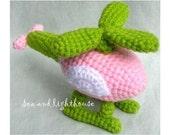 Instand Download Amigurumi Crochet PDF pattern - Helicopter
