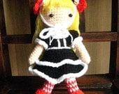 Instant Download Amigurumi PDF crochet pattern  - Lolita.