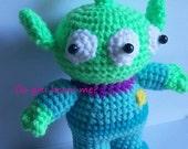 Instant Download Amigurumi Crochet PDF Pattern - Monster