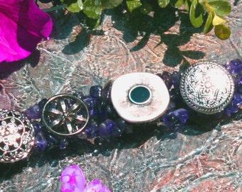 Amethyst Bracelet 3 Strands