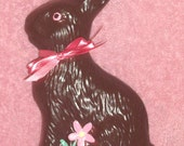 Ceramic Chocolate Easter Bunny Rabbit Fake Food