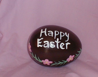 Personalized Ceramic Chocolate Easter Egg
