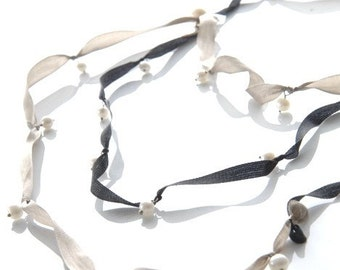 flowering Pearl Necklace