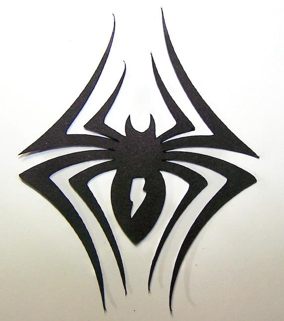Black Widow, Spider, Eight Legs, Insect, Predator, Nemisis, Deadly, Creepy, Halloween, Night Crawler, Black, Paper Piecings, Scrapbooking,