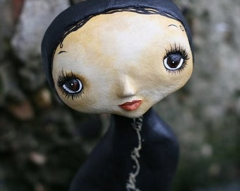 Love at first glance  Art Doll OOAK