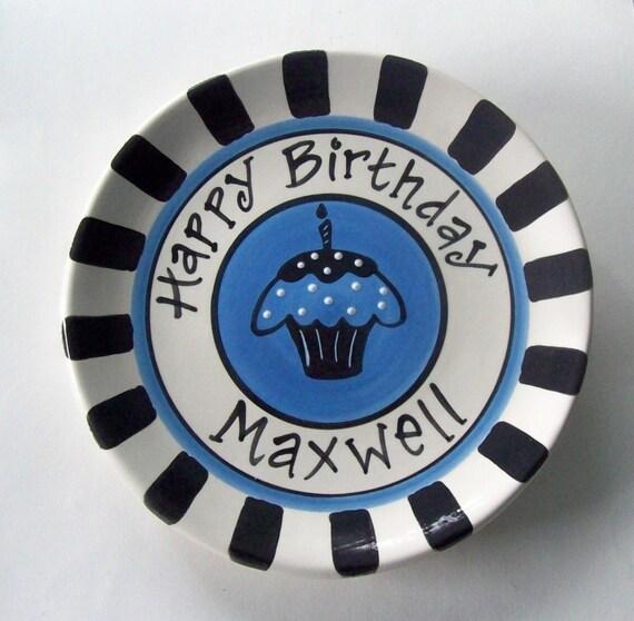 Birthday Boy Plate PERSONALIZED