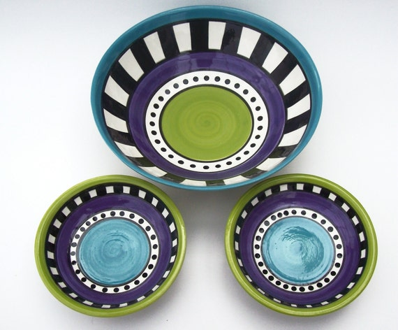Colorful Bowl- Set of 3