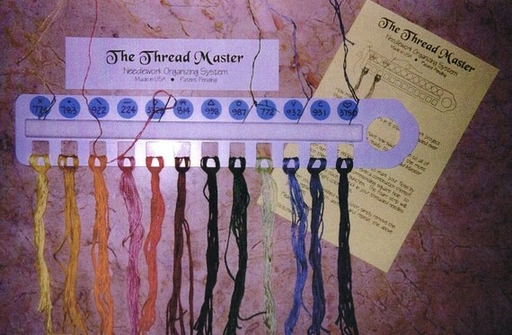 Thread Master - Needlework Organizing System