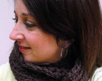 Long Crochet Scarf Infinity Scarf Women Scarves Acrylic Neckwarmer