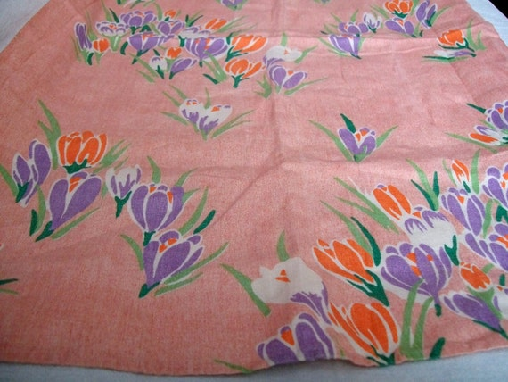 Vintage Tea Towel Tupils