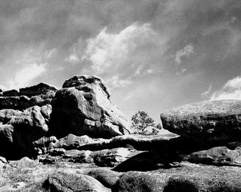 Red Rocks - Denver, Colorado 4 X 6 Photo Print/  Affordable Home Decor/ Fine Art Photography/ Fall Decor