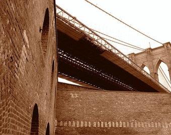 Brooklyn Bridge - DUMBO 8 x 10 Photo Print