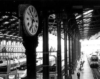 Gare du Nord Train Station - Paris, France 8 X 10 Photo Print
