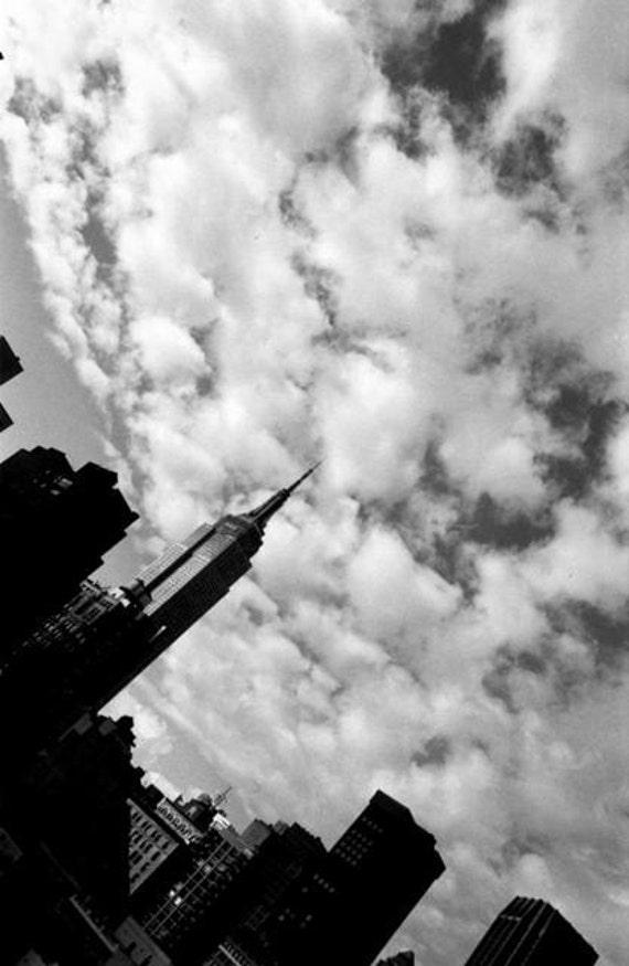 Empire State Building - New York City   8 x 10 Print/Home Decor/ Wall Decor/ Affordable Fine Art/ New York photo print