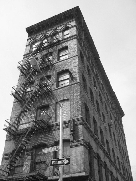 "Still Standing - TRIBECA, NY  - 8 X 10"" Photo Print /Home Decor,/ Wall Decor/ Affordable Fine Art"