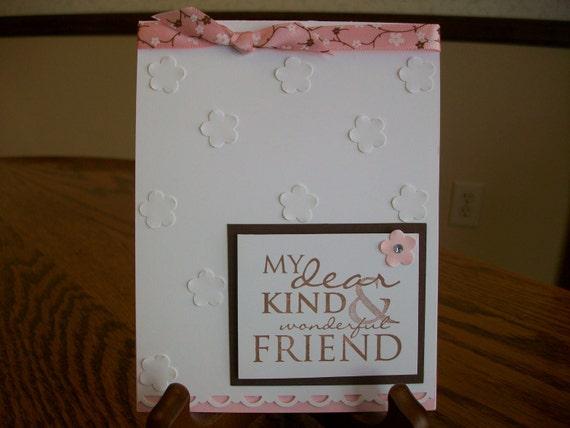 Wonderful Friend Happy Birthday Card
