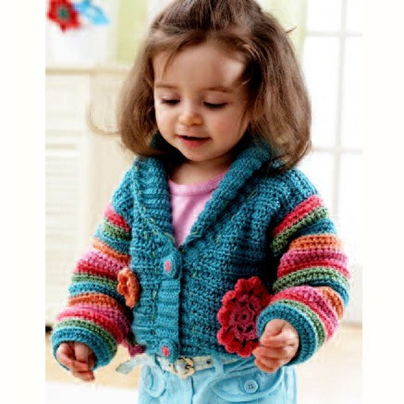How to Crochet a Sweater for a Toddler Boy | eHow