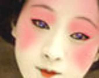 OOAK Geisha premade Etsy Shop banner with free avatar