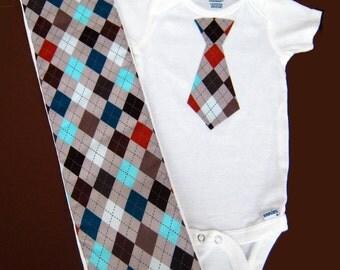 Kids, Boys Clothing, Baby Boys Clothing, Bodysuits, Onesies, Baby Boy Gift set, Grey Argyle, New Baby Gift