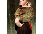 RESERVED FOR MALLORY- Sale- Save 50 Dollars- ooak- Kat Swank Capelet