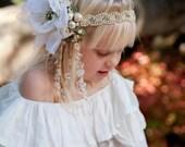 The Tiny Tot Mini Alana Headdress- Custom Colors Available- OOAK Made to Order, Bespoke