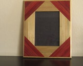 STRAW MARQUETRY FRAME  no.1458