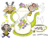 Friendship, Just For Fun Greeting Card - Life Is Like A Cup Of Tea ...  (J112)