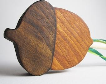 Wooden Fairy Acorn Wand Eco-friendly Autumn Halloween