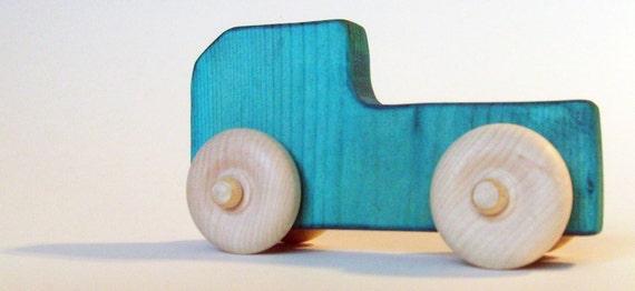 Wooden Toy Truck Waldorf Toy