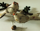 Fall in Love In Autumn - Love Birds Cake Topper