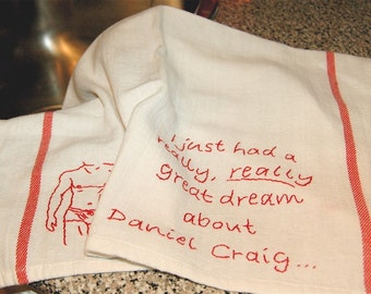 Dreamy in the Kitchen - Hot DIsh Tea Towel