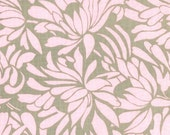 CLEARANCE - Amy Butler, Daisy Chain, Daisy Bouquet, Grey, Rowan Westminster, 100% Cotton Quilt Fabric, Floral, Pink & Gray, SELECT A SIZE