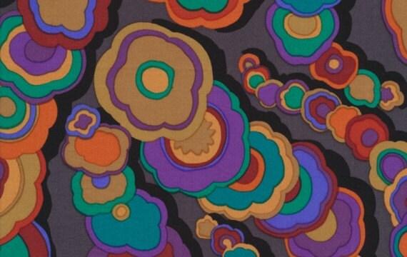 Kaffe Fassett - Kite Tails - Black - Designer Quilt Fabric - END OF BOLT