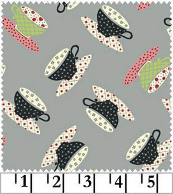 FAT QUARTER - Windham Fabrics - Tea for Two - Designer Quilt Fabric